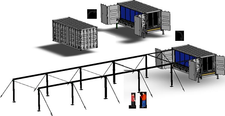 Principe de montage - Montage de la structure