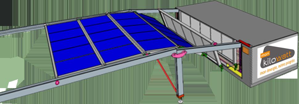 Principe de montage - Baies photovoltaïques